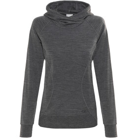 Icebreaker Dia Pullover Hoody Women jet heather